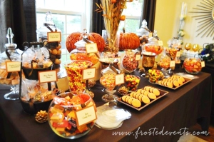 autumn-fall-candy-dessert-buffet-frostedevents-orange-halloween